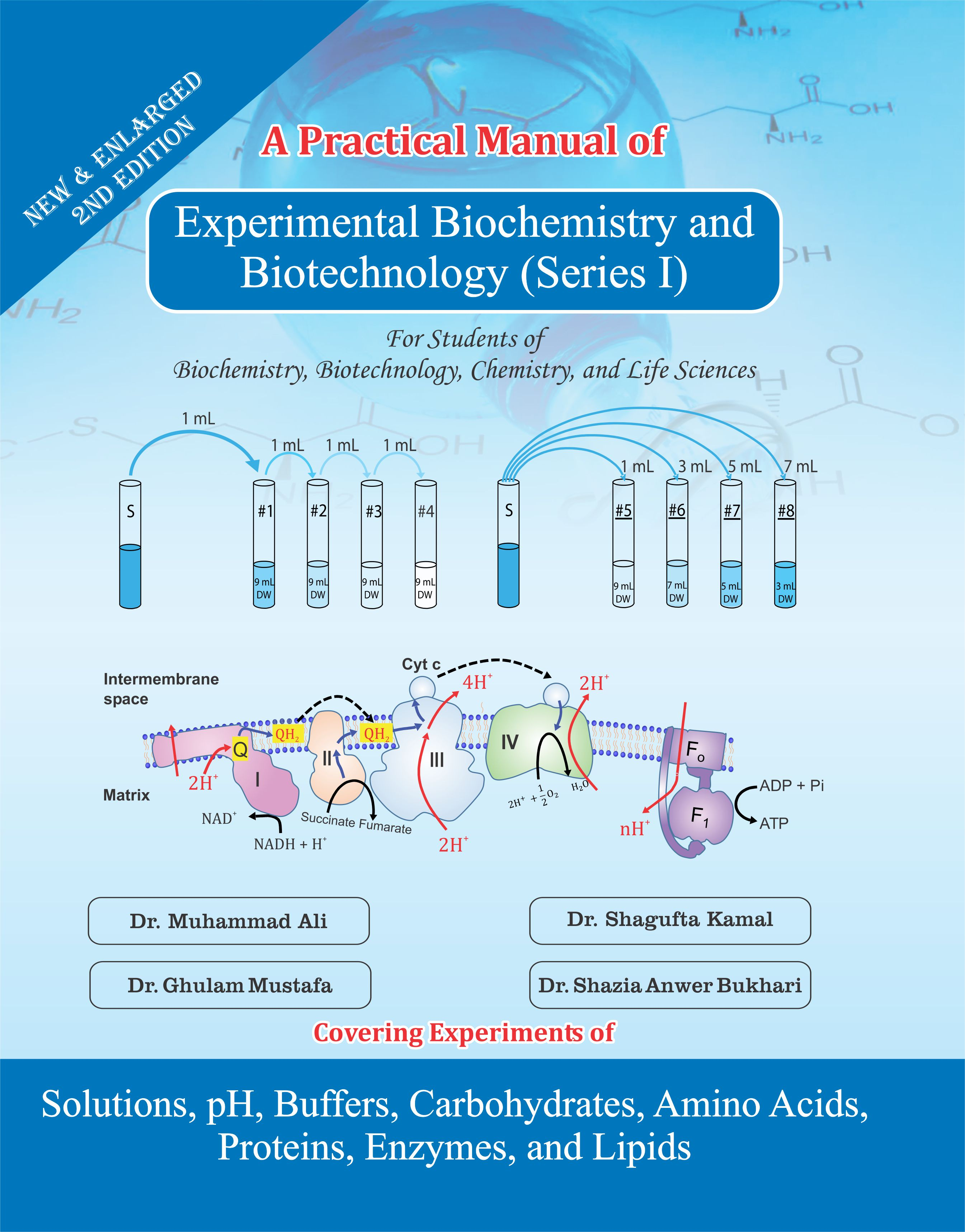 experimental biochemistry and biotechnology (series i)