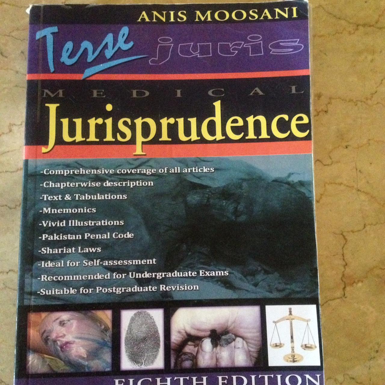 terse jurisprudence forensic medicine