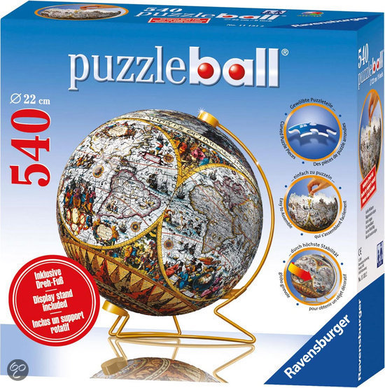 PuzzleBall (Ancient Map)- 540 pcs