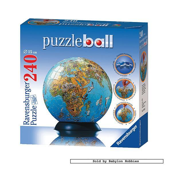 PuzzleBall (World Map) - 240 pcs