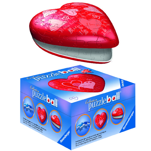 PuzzleBall (Heart) - 60 pcs