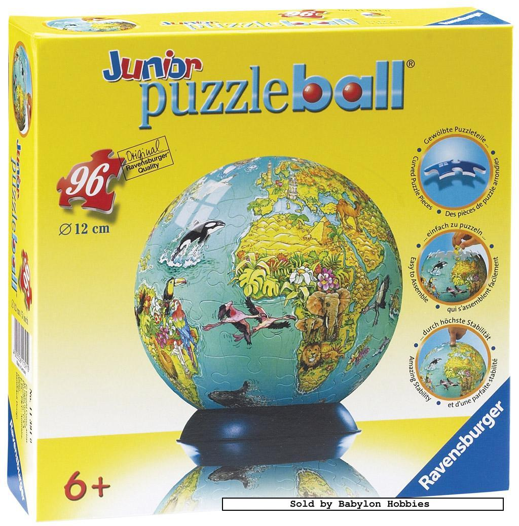 Jr PuzzleBall (Children's Globe) - 96 pcs