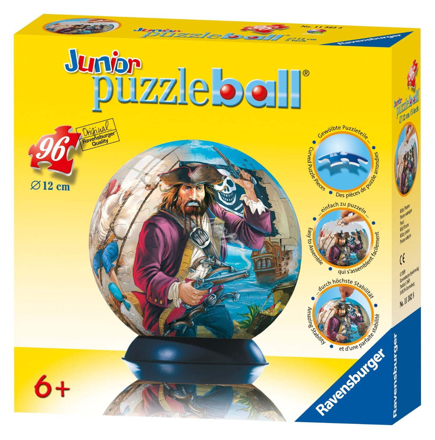 Jr PuzzleBall (Wild Pirates) - 96 pcs