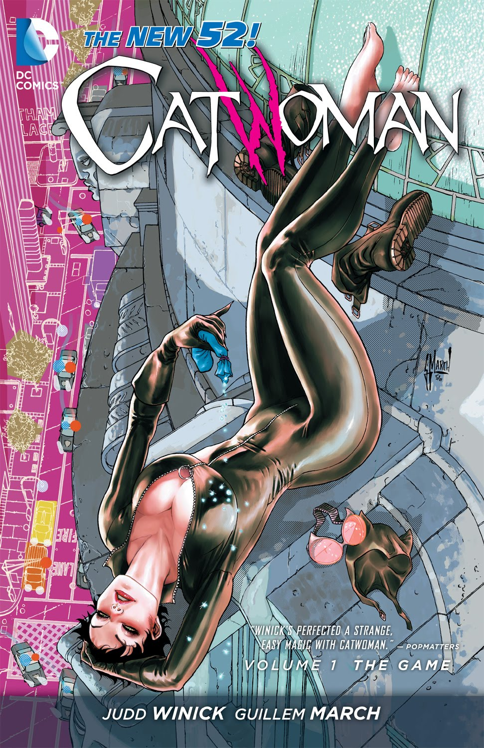 Catwoman New 52 Volume 1 (The Game)