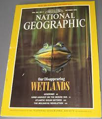oct 1992 our disappearing : wetlands