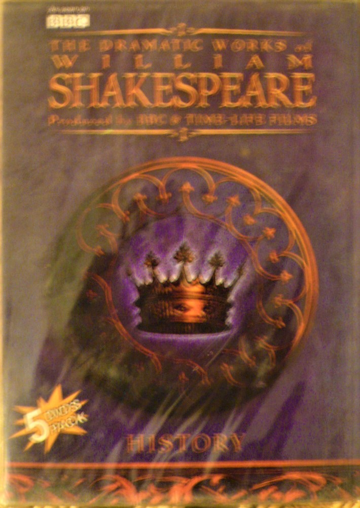 the dramatic works of william shakespeare: history (dvd, 5-disc set)