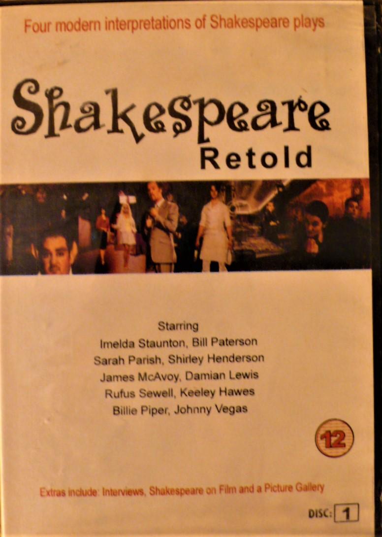 shakespeare retold 2 dvd set
