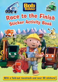 race to the finish: sticker activity book ( bob the builder )