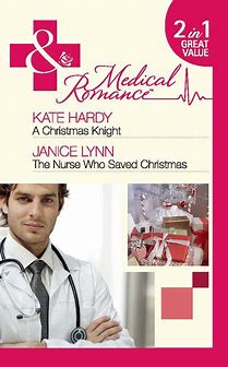 a christmas knight / the nurse who saved christmas : 2 in 1 book