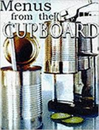 Menus from the Cupboard