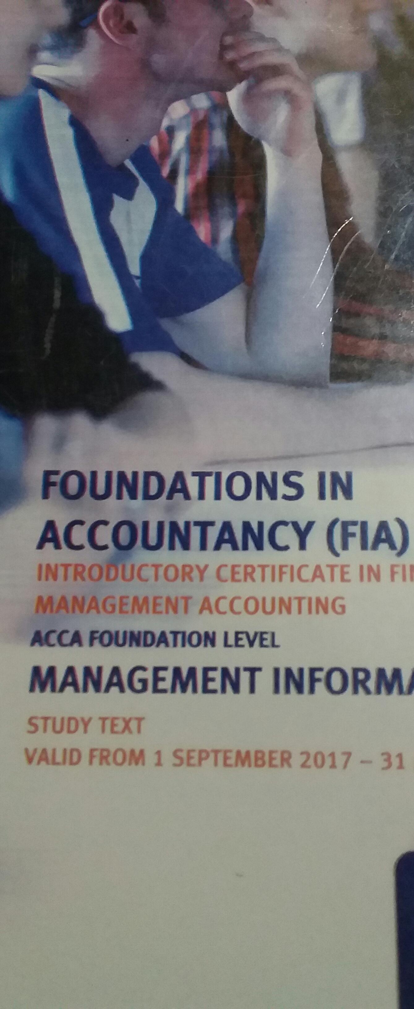 FIA MA1 Study Text