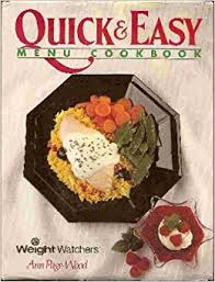 Quick and Easy Menu Cook Book