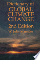 dictionary of global climate change