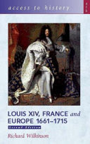 louis xiv, france and europe, 1661-1715