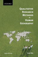 qualitative research methods in human geography