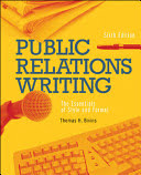 public relations writing: the essentials of style and format