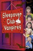 sleepover club vampires