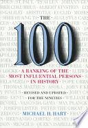 the 100 (a ranking of the most influential persons in history)