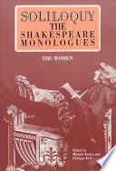 soliloquy! the shakespere monologues