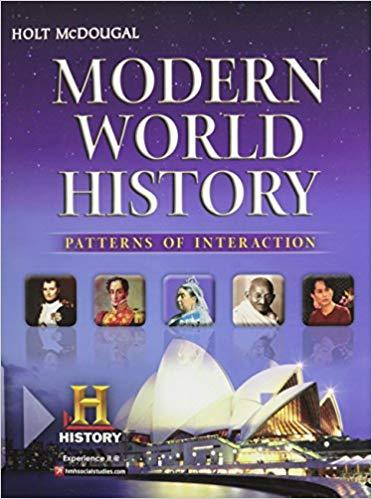 modern world history: patterns of interaction