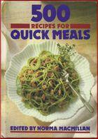 500 recipes for quick meals