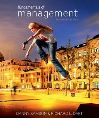 fundamentals of management by danny samson