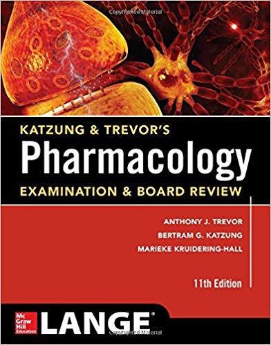 pharmacology katzung and trevor's