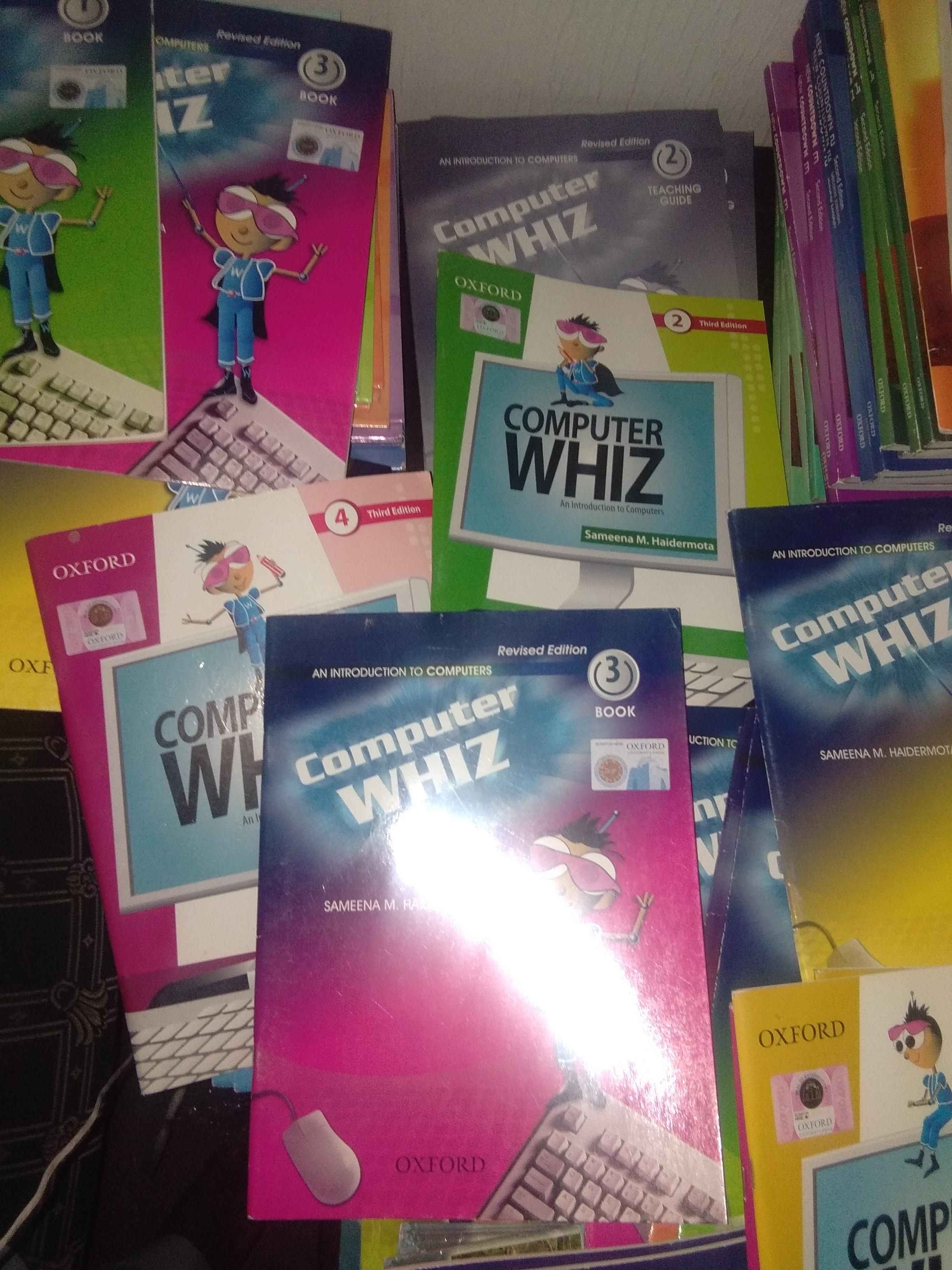 computer whiz third  edition 1,2,3,4
