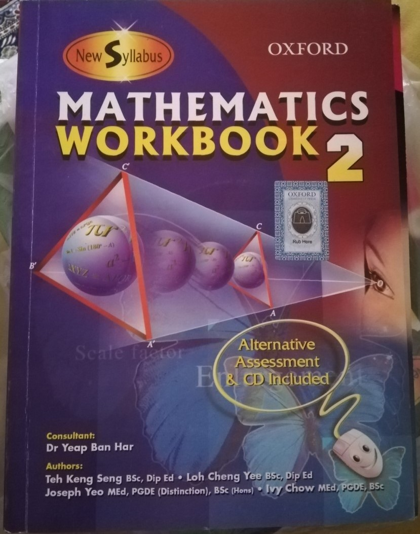 new syllabus mathematics workbook