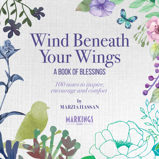 wind beneath your wings - a book of blessings