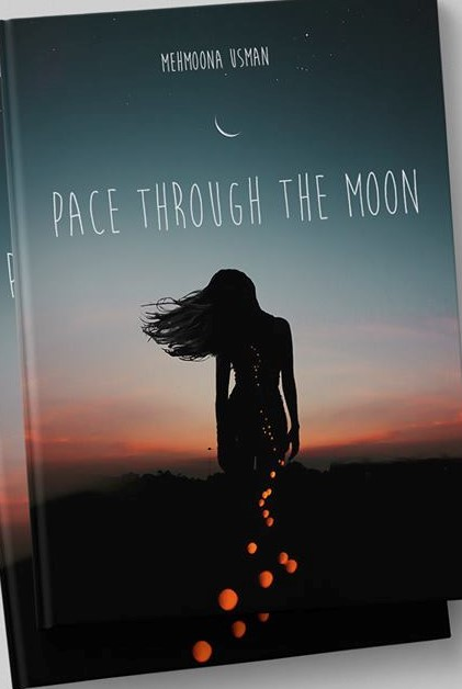 pace through the moon